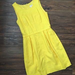 J. Crew Yellow Dress